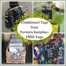 Chalkboard+Formica+tags