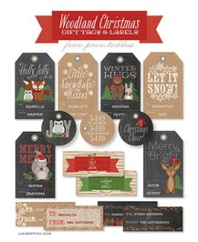 woodland-christmas-gift-tags-and-labels