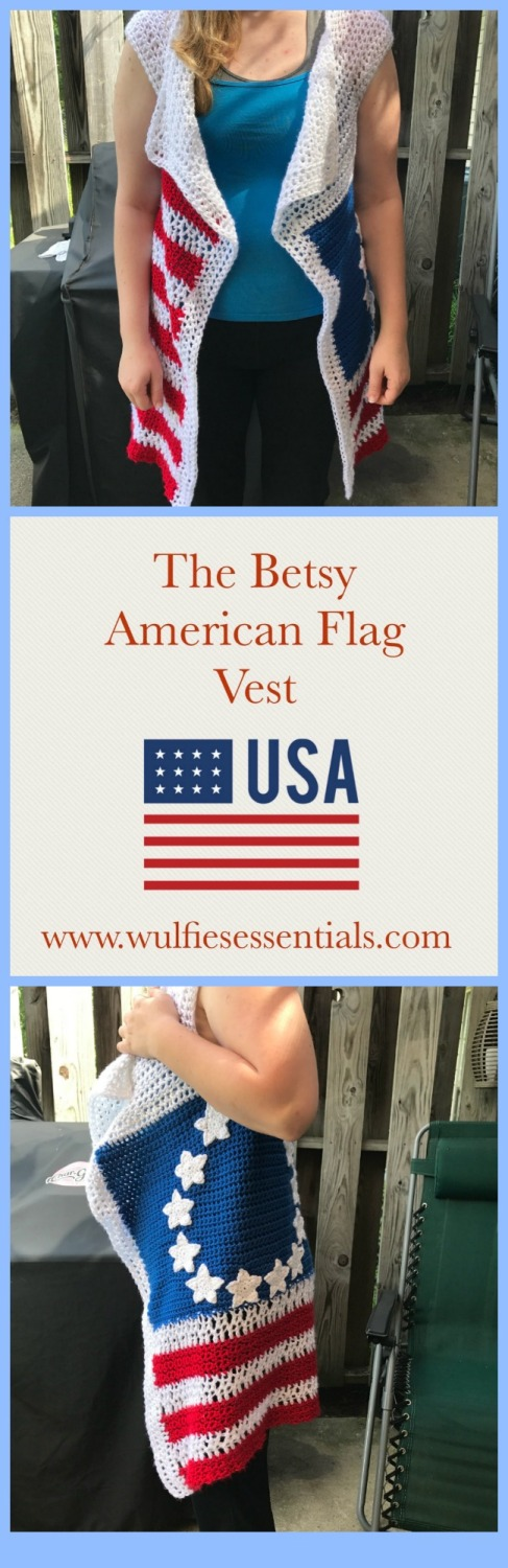 The Betsy Vest by W.E
