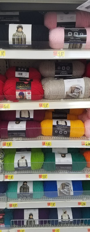 Review Walmarts Mainstay Basic Yarn Wulfiesessentials
