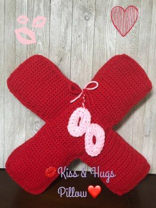 W.E Kiss&HugsPillow