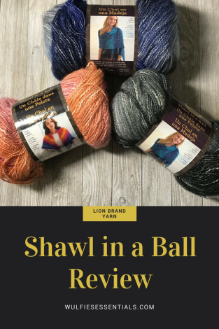 W.E Shawl in a Ball Review