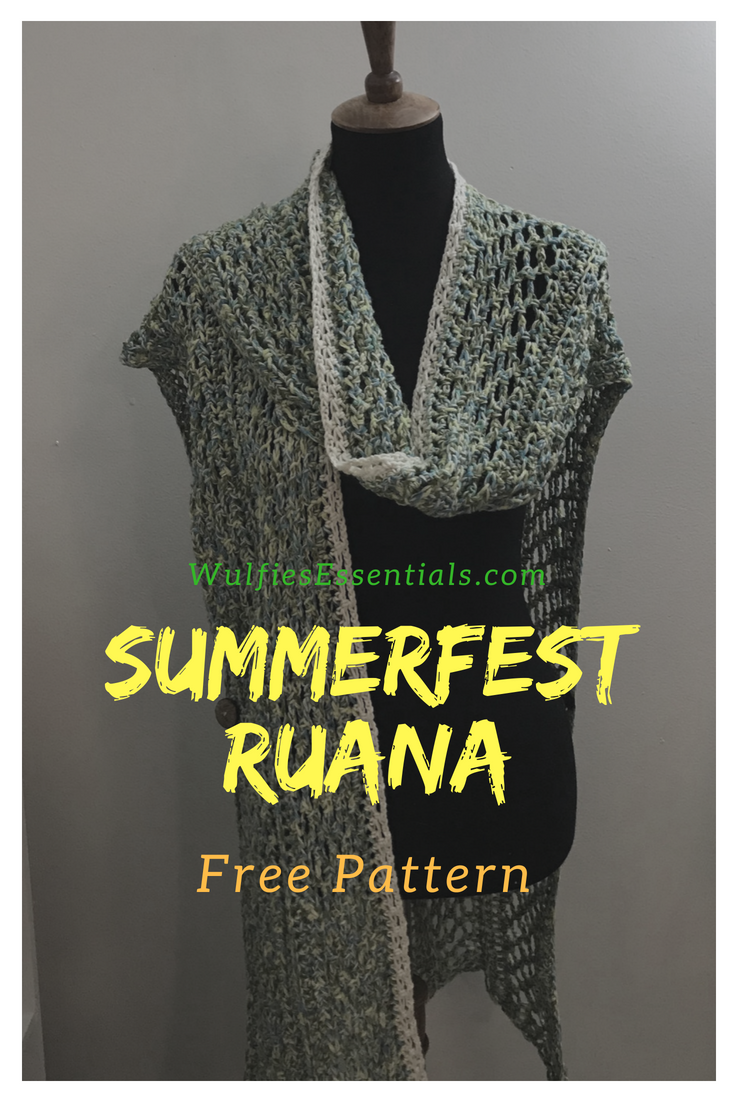 SummerFest Ruana Pattern – WulfiesEssentials