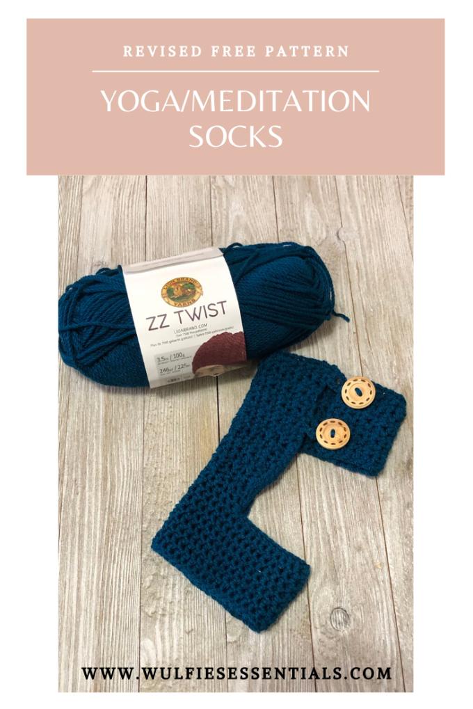 Yoga Socks Revised Free Pattern