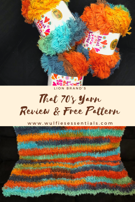 That 70s Yarn Review n Free Pattern